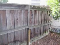 Exterior Fence Home Inspection